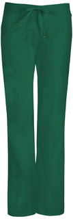 46002A Mid Rise Moderate Flare Drawstring Pant-