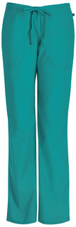 46002AB Mid Rise Moderate Flare Drawstring Pant-Code Happy