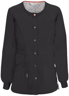 46300A Snap Front Warm-up Jacket