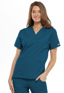 Workwear Ladies 3 Pocket V-Neck Scrub Top - Originals 4700