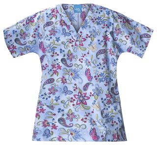 Scrub HQ V-Neck Scrub Top-Scrub HQ