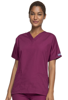 WW 4700 V-Neck Top-Cherokee Workwear