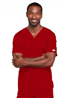 Core Unisex 4 Pocket V-Neck Scrub Top - Workwear 4725-Cherokee Workwear