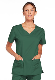 4727 V-Neck Top-Cherokee Workwear