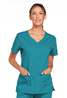 Core 2 Pocket V-Neck Scrub Top-