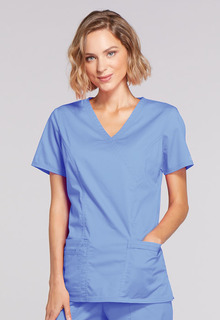 Cherokee Core Stretch 4728 Scrub Top-Cherokee Workwear