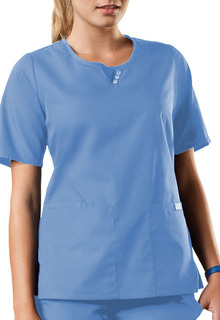 4740 Round Neck Top-Cherokee Workwear