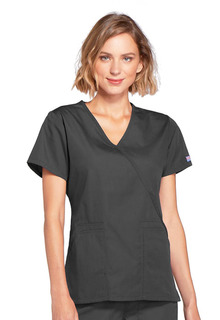 WSL - DEAL - 4 Pocket Mock Wrap Top - Originals-