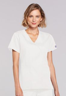 4741 Mock Wrap Top-Cherokee Workwear