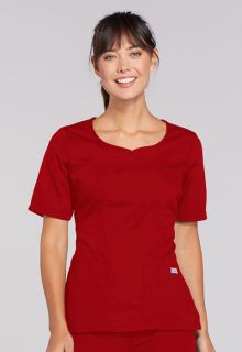 4746 V-Neck Top-Cherokee Workwear