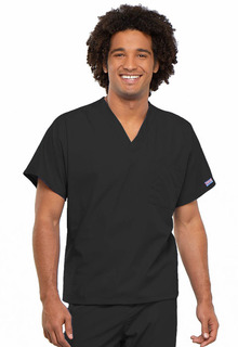 Cherokee Work Wear Unisex V-Neck Scrub Top