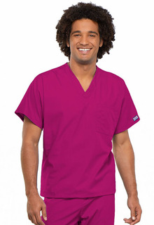 Unisex V-Neck Tunic-Cherokee Workwear