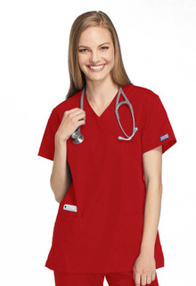Mock Wrap Tunic-Cherokee Workwear