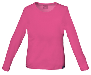 4818 Long Sleeve Underscrub Knit Tee-Cherokee Workwear