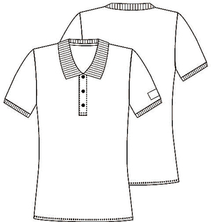 Polo Shirt-Cherokee Workwear