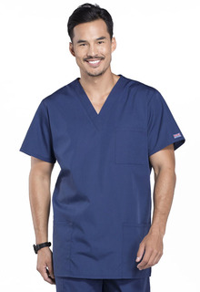 Cherokee Workwear Unisex V-Neck Scrub Top-