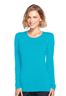 4881 Long Sleeve Underscrub Knit Tee-Cherokee Workwear