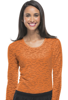 4882 Long Sleeve Underscrub Knit Tee-Cherokee Workwear