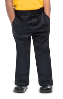 Preschool Unisex Flat Front Pant-