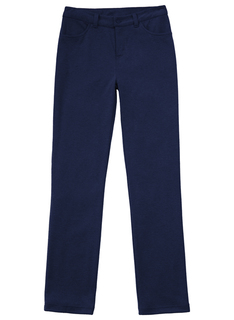 Girls Ponte Tapered Leg Pant-