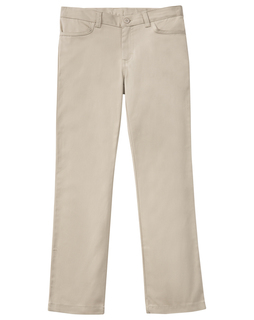 "Girls Plus Stretch ""Matchstick"" Leg Pant-"