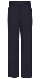Flat Front Slim Elastic Trouser Pant-Classroom Uniforms