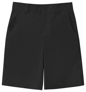 Girls Stretch Flat Front Short-