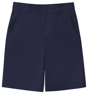 Junior Stretch Flat Front Short-
