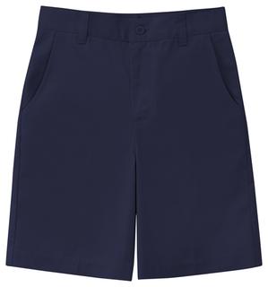 Junior Stretch Flat Front Short-