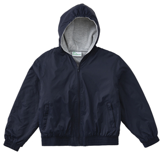 Toddler Hooded Bomber Jacket-