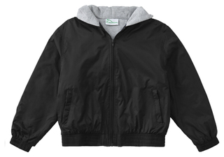 Youth Unisex Zip Front Bomber Jacket-Classroom Uniforms