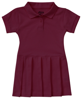 Preschool Pique Polo Dress-Classroom Uniforms