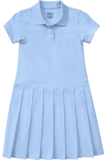 Girls Pique Polo Dress-Classroom Uniforms