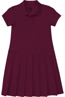 54122 Girls Pique Polo Dress-