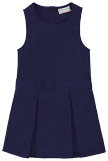 Girls Kick Pleat Jumper-Classroom Uniforms
