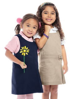 Preschool Princess Seam Jumper-Classroom Uniforms