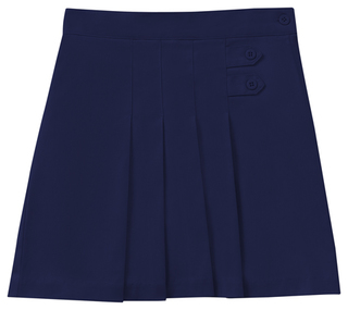 Juniors Stretch Pleated Tab Scooter-
