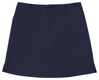 Girls Plus Stretch Fly Front Scooter-Classroom Uniforms