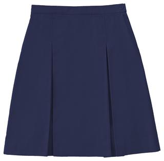 Longer Length Kick Pleat Skirt-