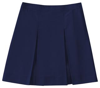 Girls Plus Kick Pleat Skirt-Classroom Uniforms