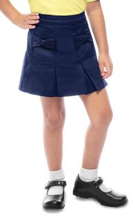 Preschool Girls Bow Pocket Scooter-Classroom Uniforms