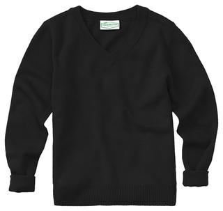 Adult Unisex Long Sleeve V-Neck Sweater-