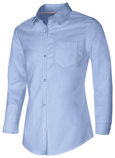 Junior Long Sleeve Oxford Shirt-Classroom Uniforms