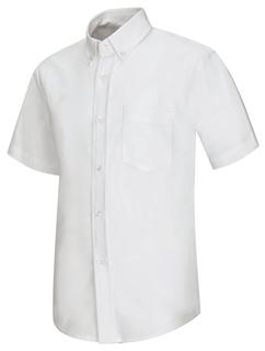 57601 Boys Short Sleeve Oxford Shirt-