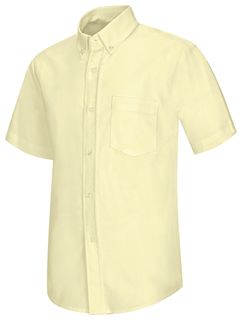 Boys Short Sleeve Oxford Shirt-