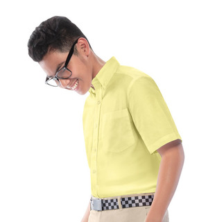 57602 Boys Short Sleeve Oxford Shirt-