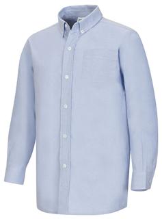 Boys Husky L/S Oxford Shirt-Classroom Uniforms