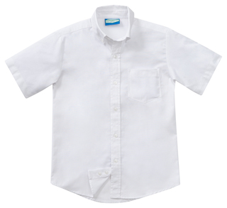 Boys Husky Short Sleeve Oxford-