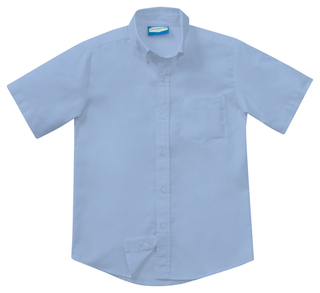 Mens Short Sleeve Oxford-Classroom Uniforms