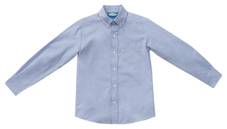 Boys Long Sleeve Oxford-Classroom Uniforms